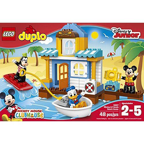 Lego Duplo Disney 10827 Mickey Friends Beach House Building Kit