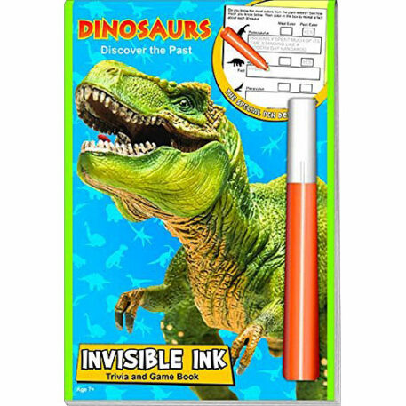 Dinosaurs Discover the Past Magic Ink