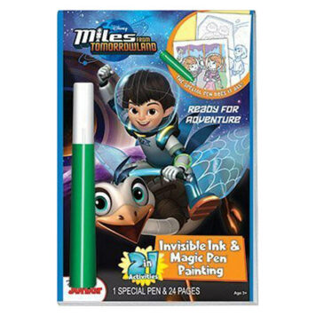 Miles From Tomorrowland Ready for Adventure 2 in 1 Invisible Ink & Magic Pen Painting