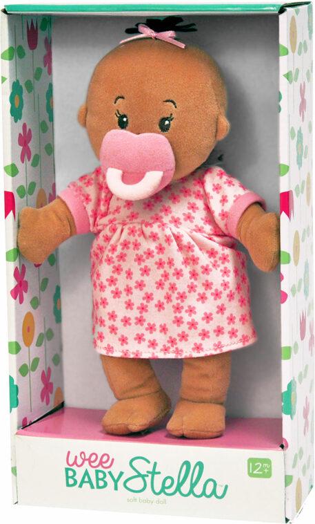 Wee Baby Stella Doll Beige (brown tuft/brown eyes)