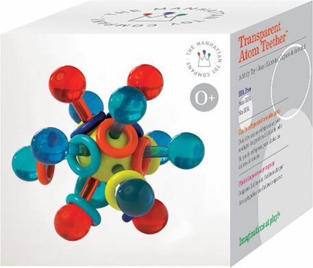Transparent Atom Teether (Boxed)