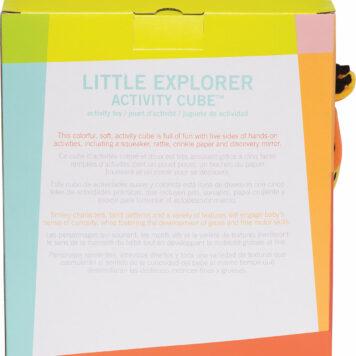 Little Explorer Activity Cube