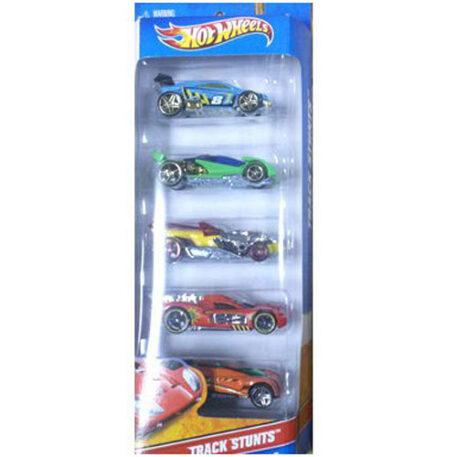 Hot Wheels 5 Car Gift Pack - Track Stunts