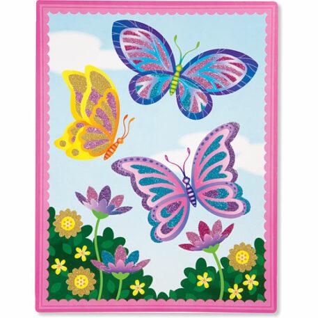 Flower & Butterfly Scenes