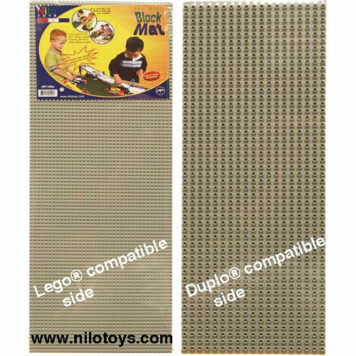 "Nilo Block Mats - Gray - 2 - 2-sided Baesplates, 12"" x 32"" each | 24"" x 32"" total area."