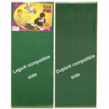 """Nilo Lego baseplate Duplo baseplate. Two Sided. 12"""" x 32"""" each & 24"""" x 32"""" total area. Made in U.S.A."""