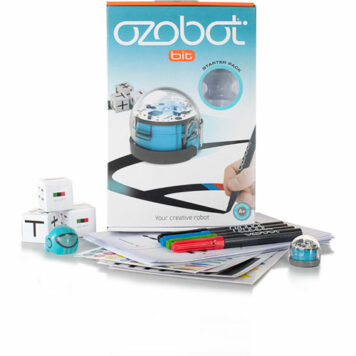 Ozobot 2.0 Bit Starter Pack, Cool Blue