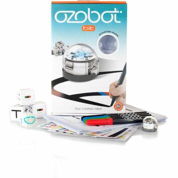 Ozobot 2.0 Bit Starter Pack, Crystal White