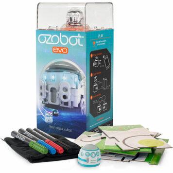 Ozobot Evo Starter Pack, Crystal White