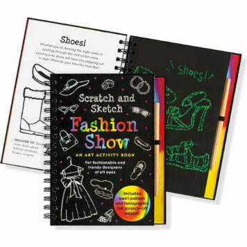 Fashion Show Scratch and Sketch: An Art Activity Book for Fashionable and Trendy Designers of All Ages