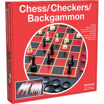 Chess/ Checkers/ Backgammon