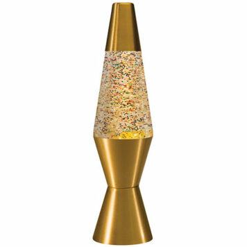 """11.5"""" Rainbow Glitter Lamp"""