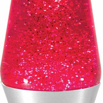 "14.5"" Glitter Lava Lamp"
