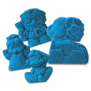 Kinetic Sand Boy's Wacky-Trinities Theme Accessory Pack