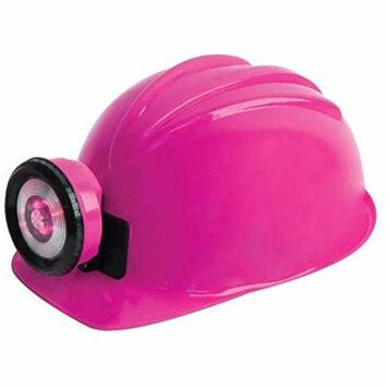 LED Bulb Miner Helmet
