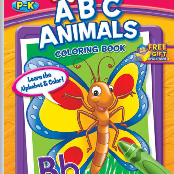 My First ABC Animals Coloring Book Little Busy Book