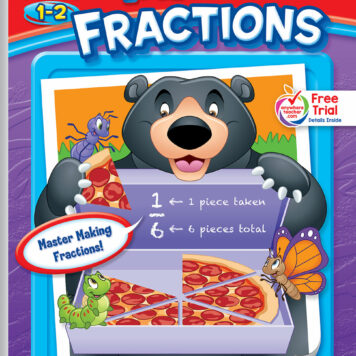 Make Fractions Little Get Ready! Book