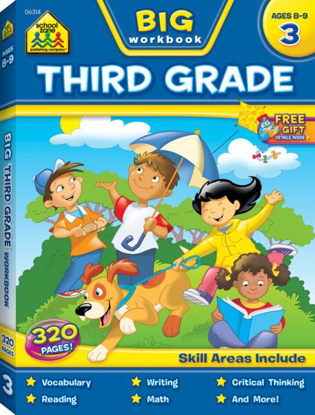 Big Third Grade Workbook