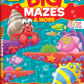 Big Mazes & More! Workbook