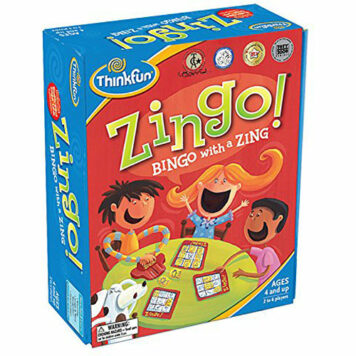 Zingo Time-Telling Board Game