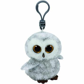 Ty Beanie Boos Owlette the White/Gray Owl - Clip