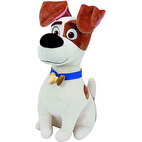 fd061df0880 Ty Beanie Babies Secret Life of Pets Max The Dog Medium Plush ...