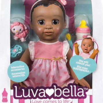 Luvabella Doll African Amer