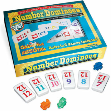 Double 12 Numbered Dominoes