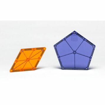 Magna-tiles Polygons 8 Piece Expansion Set