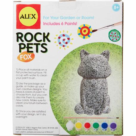 ALEX Toys Craft Rock Pets Fox