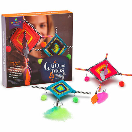 Craft-tastic Ojo de Dios Kit