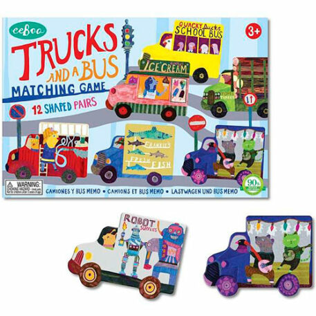 Trucks and Bus Matching Game