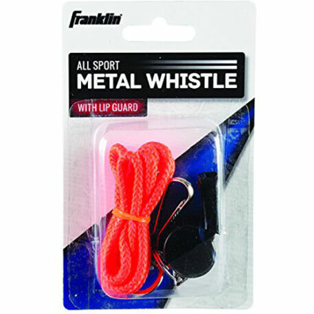 Franklin Sports All-Sport Metal Whistle with Lip Guard