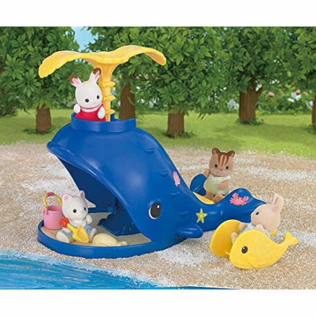 Calico Critters Splash and Play Whale Playset