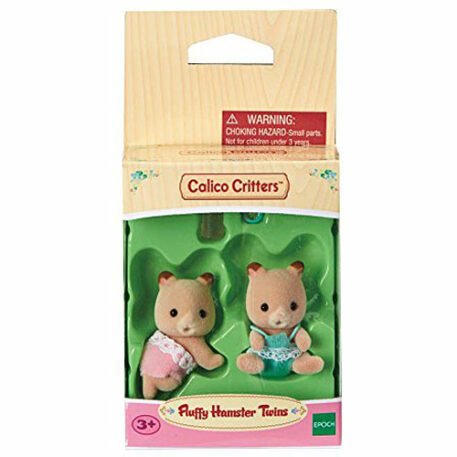 Calico Critters Fluffy Hamster Twins Toy