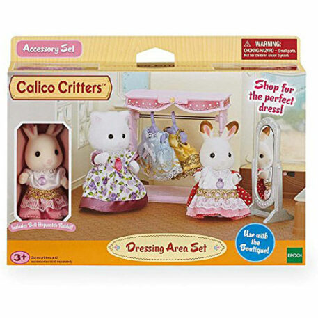 Calico Critters Dressing Area Set Playset