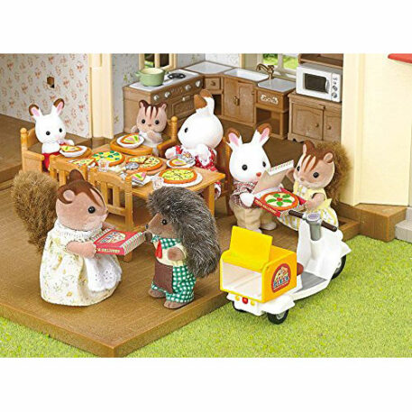 Calico Critters Girls Pizza Delivery Playset, Multicolor, One Size