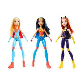 DC Super Hero Girls Training Action Dolls