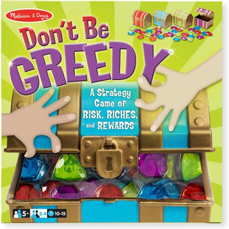 Donメt Be Greedy