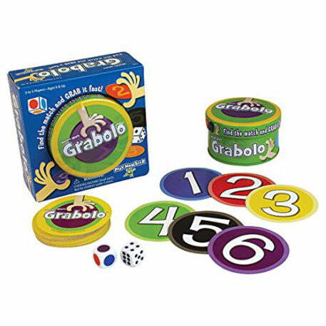 Grabolo Find The Match & GRAB It Fast! Card Game