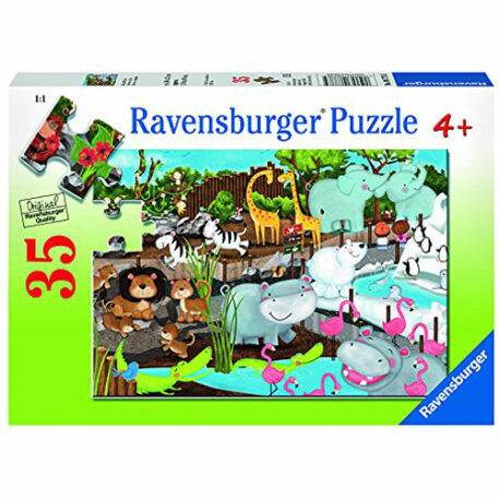 Ravensburger Day At The Zoo Jigsaw Puzzle (35 Piece)
