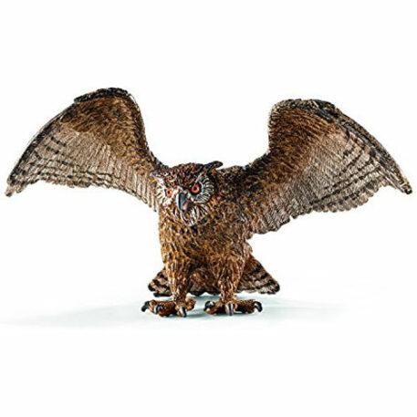 Schleich Eagle Owl Figurine Toy Figure