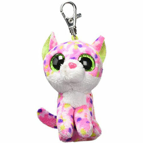 Carletto Ty 36634ï¾sophie Cat Clip With Glitter Eyes, Glubschi's Beanie