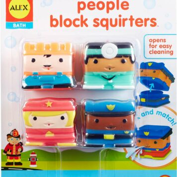 ALEX Bath People Block Squirters
