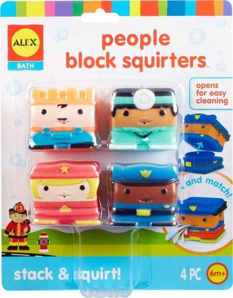 ALEX Bath People Block Squirters