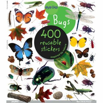 Eyelike Stickers: Bugs Paperback