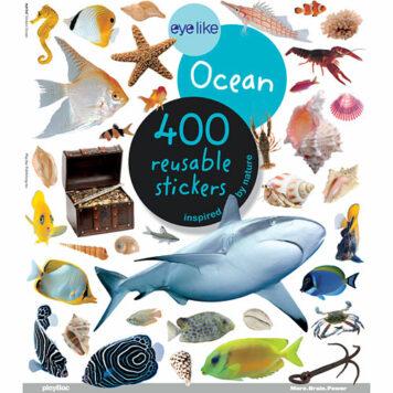 Eyelike Stickers: Ocean Paperback