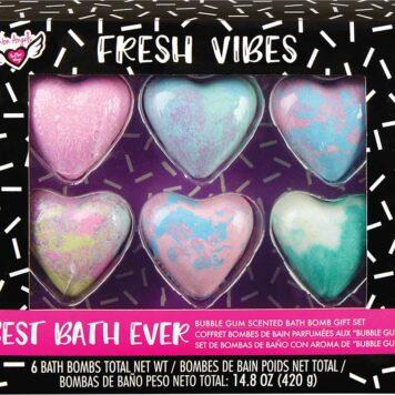 Fresh Vibes Bubble Gum Scented Bath Bomb Gift Set