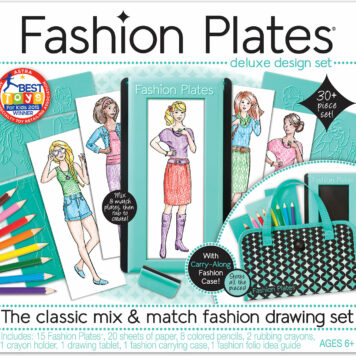 Fashion Plates Deluxe Design Set