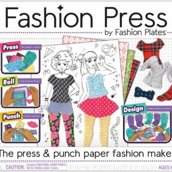 Fashion Press Paper Fashion Maker